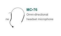 Micro choàng đầu Chiayo MC-76 (dùng cho CT-711)