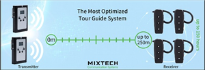 Wireless Tour Guide Mix tech WAT07-EH