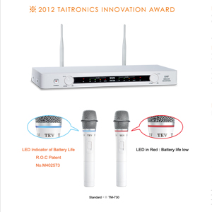 Micro không dây Karaoke TEV TR-730