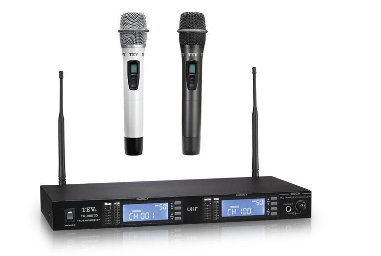 Micro không dây karaoke TEV - Đài Loan